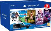 PlayStation VR + Cam V2 + Mega Pack 3 (5 games)