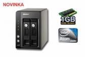 QNAP TS-239 Pro,2-bay Turbo NAS Server Atom/1GB