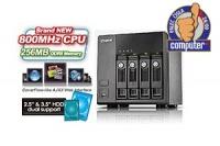 QNAP TS-410, 4-bay Turbo NAS Server 800MHz/256MB