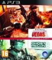 PS3 GR Advance Warfighter&Rainbow 6 Vegas2 pack