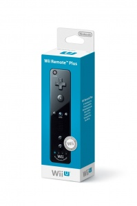 Wii U Remote Plus Black