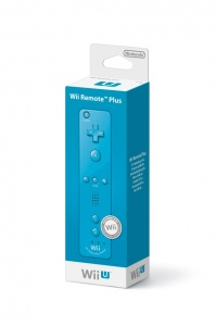 Wii U Remote Plus Blue