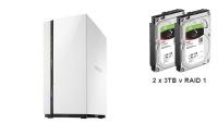QNAP TS-228 + 2x3TB HDD RAID1