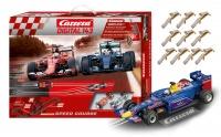 Autodráha Carrera D143 + ZDARMA auto a kartáčky