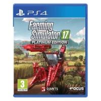PS4 Farming Simulator 17 Platinum Edition