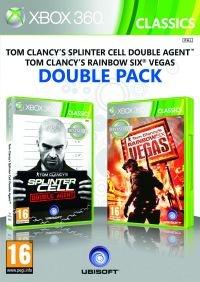 X360 Splinter Cell Double Agent&Rainbow 6 Vegas