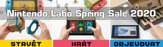 Nintendo Labo Spring Sale 2020