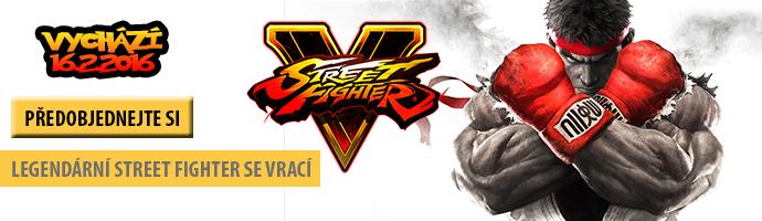 Street fighter- předobjednejte si