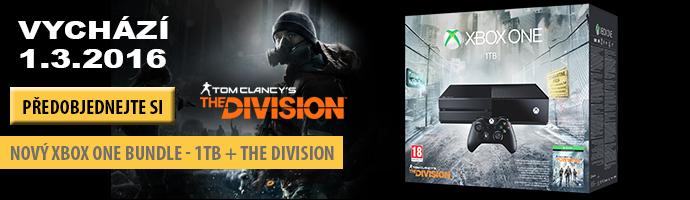 XONE Konzole 1TB + The Division