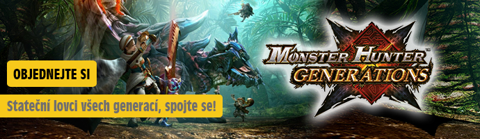 Monster Hunter Generations- objednejte