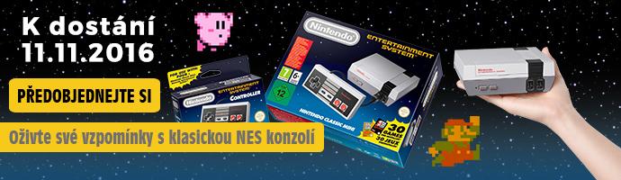 NES konzole předobjednejte si