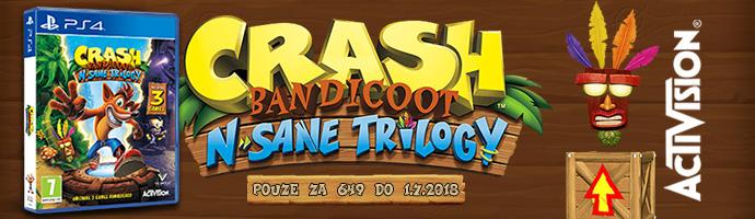 Crash Bandicoot PS4 Promo
