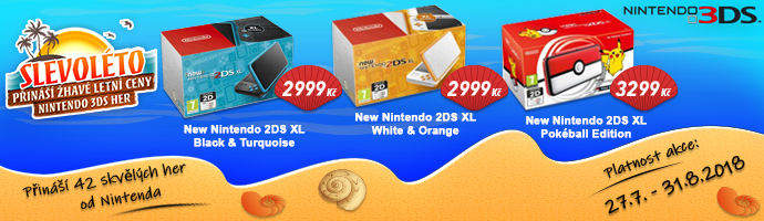Nintendo 3DS Slevoléto