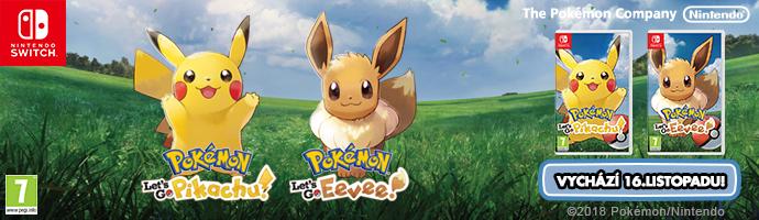SWITCH Pokémon Let's Go