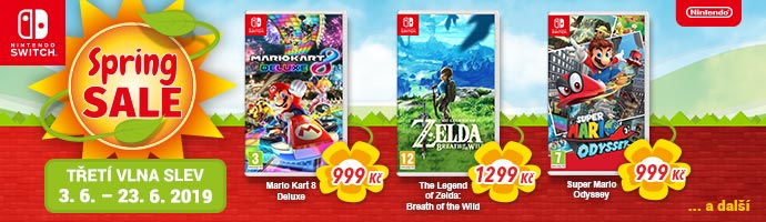 Nintendo Spring Sale 2019 třetí vlna