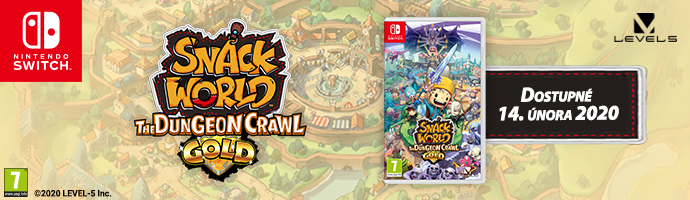 SWITCH Snack World: The Dungeon Crawl