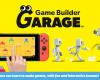 Game Builder Garage pro Nintendo Switch, který poprvé vyšel 11. června na Nintendo eShopu, bude od 10. září k dispozici u prodejců v Evropě ve fyzické