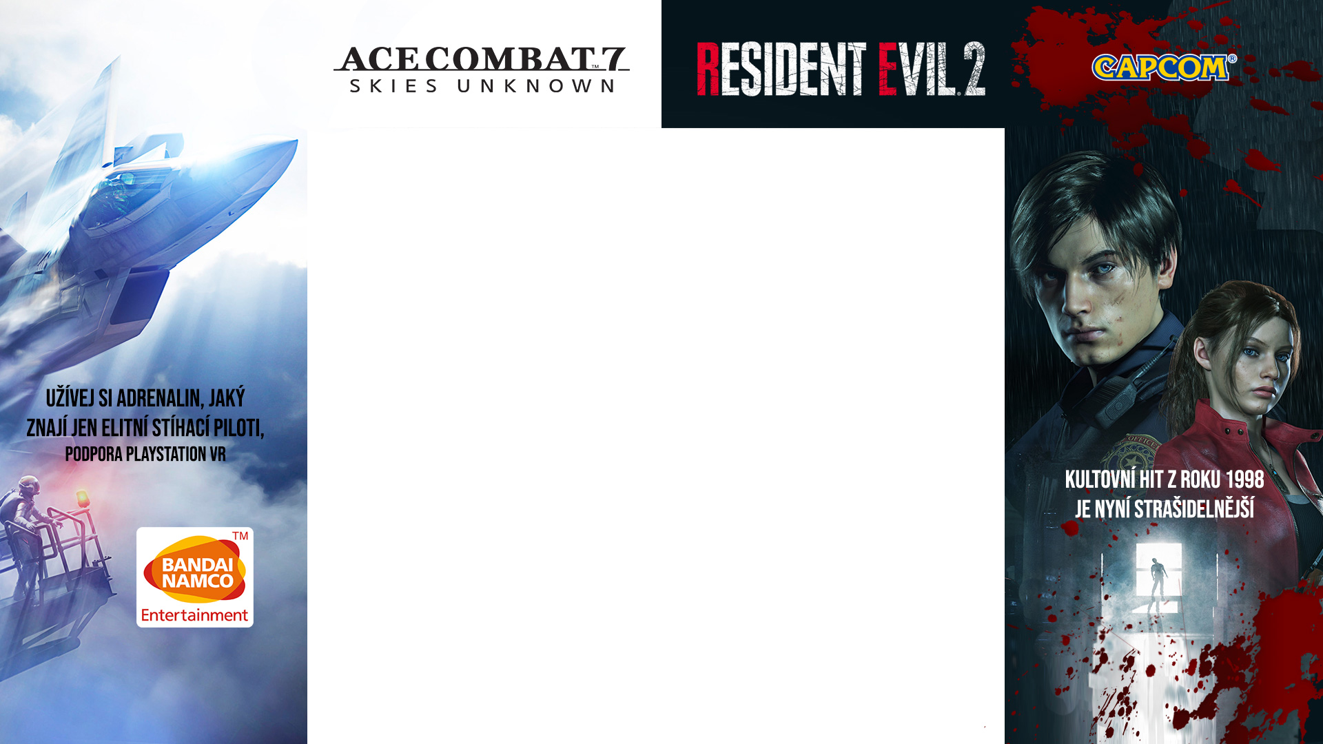 GAMEHOUSE Ace Combat 7: Skies Unknown / Resident Evil 2