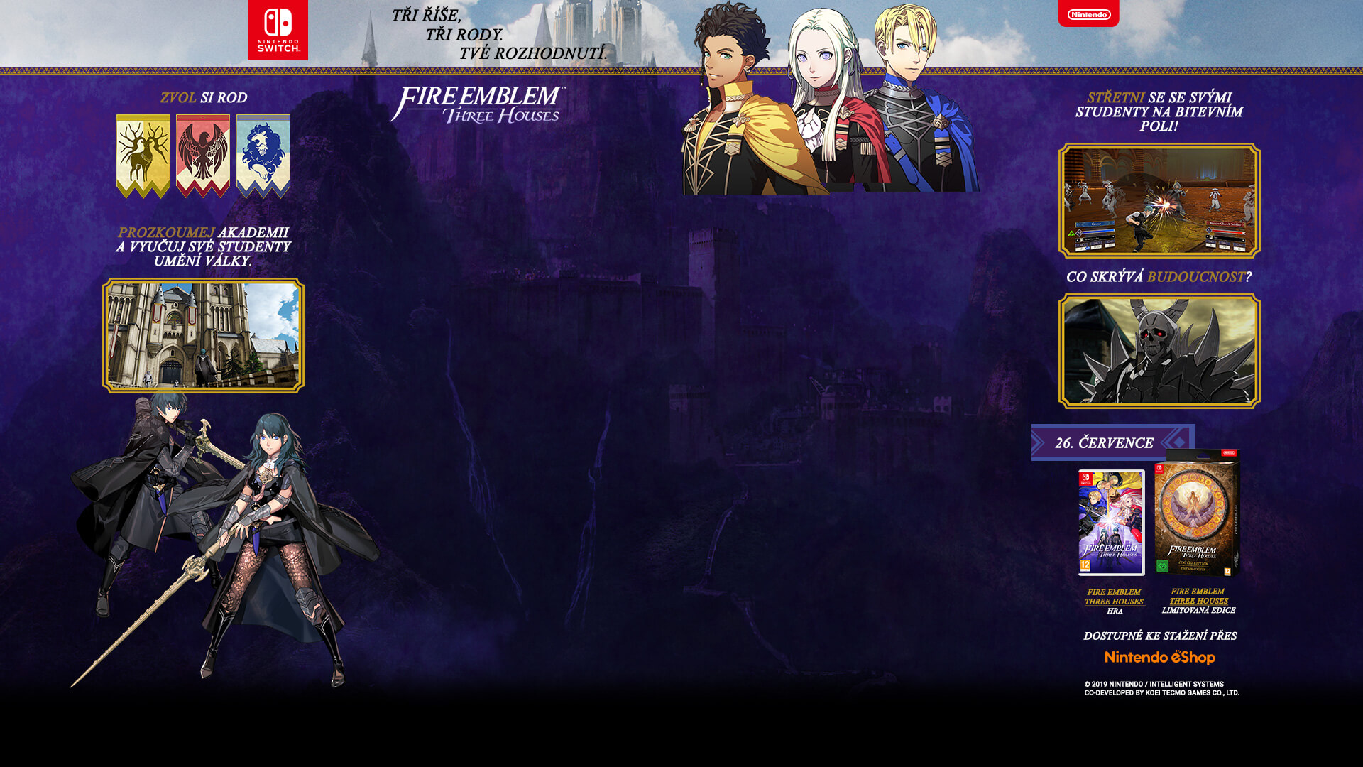 GAMEHOUSE SWITCH Fire Emblem: Three Houses