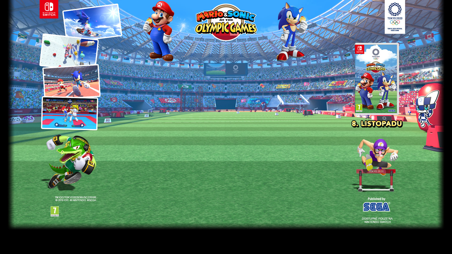 GAMEHOUSE SWITCH Mario & Sonic at the Tokyo Olymp. Game 2020