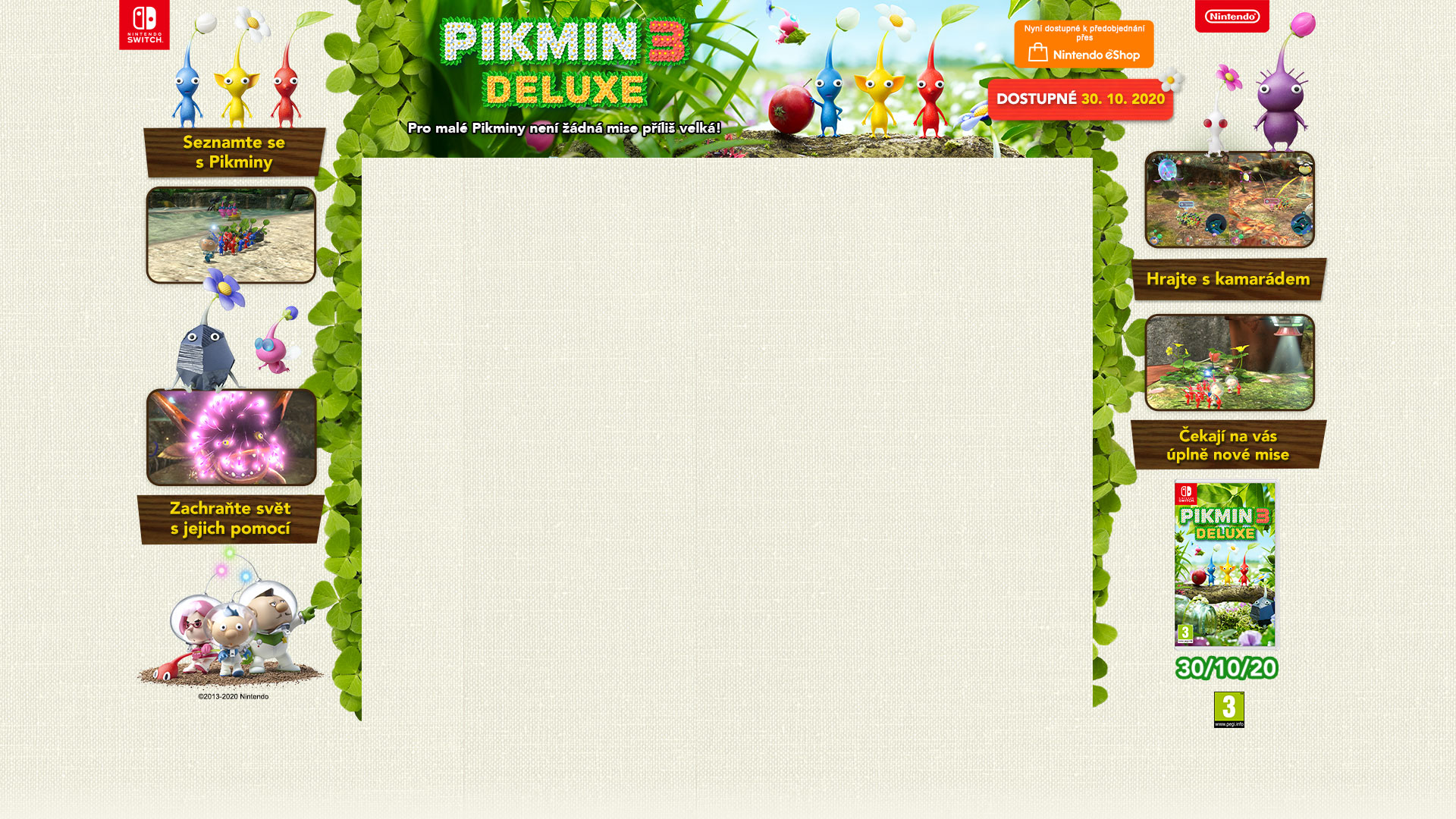 GAMEHOUSE SWITCH Pikmin 3 Deluxe
